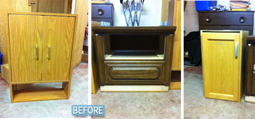 fleaChic: flea market savvy: Before and After Thursday
